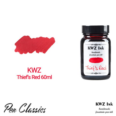 KWZ Thief's Red 60ml Bottle and Swab
