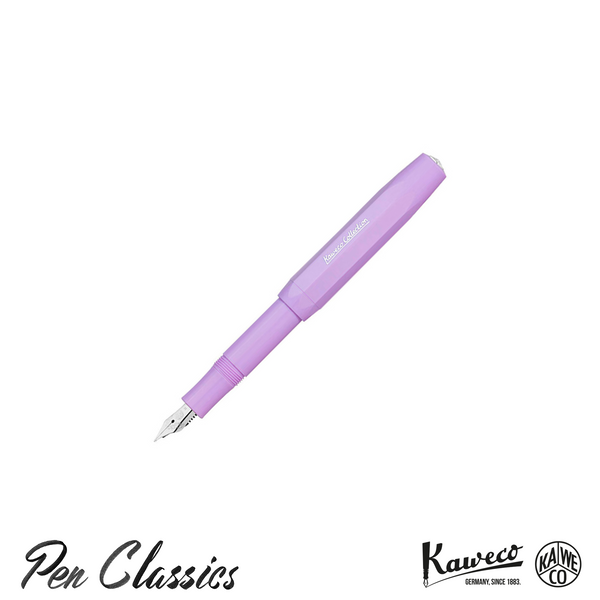 Kaweco Collection Sport Fountain Pen Light Lavender Posted Without Clip
