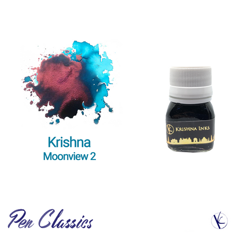 Krishna Inks Moonview 2 Bottle and Swab