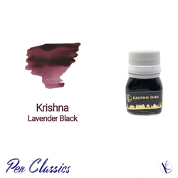 Krishna Inks Lavender Black Iron Gall Ink