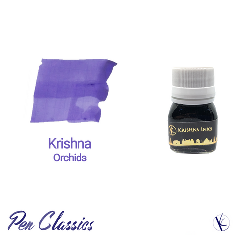 Krishna Orchids Light Purple Fountain Pen Ink