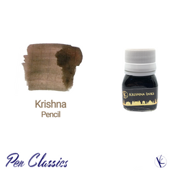 Krishna Pencil Light Brown Fountain Pen Ink