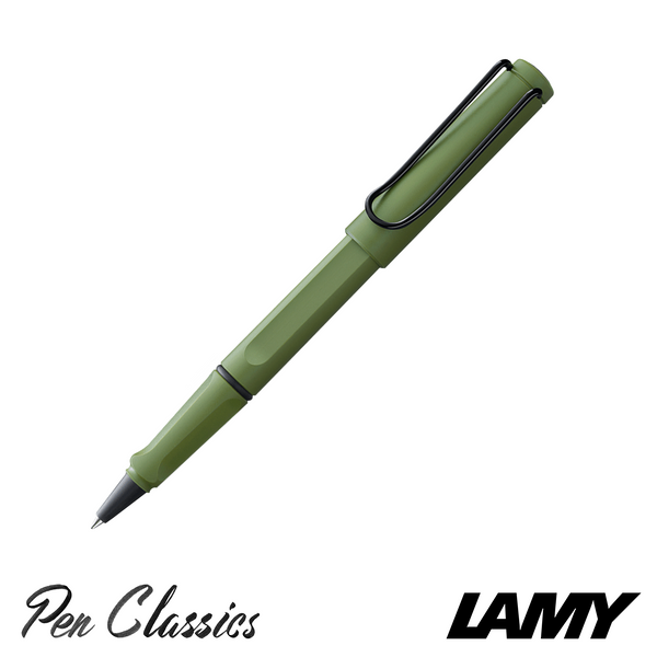 Lamy Safari Fountain Pen 2021 Originals Savannah Green Rollerball