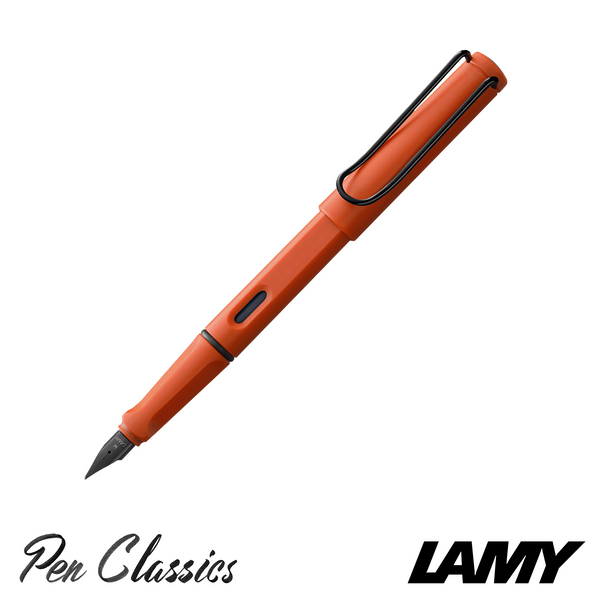 Lamy Safari Fountain Pen 2021 Originals Terra Red Posted