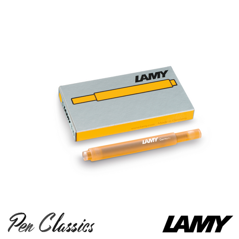 Lamy T10 2020 Mango Cartridges 5 Pack