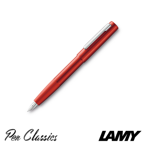 Lamy Aion Red Special Edition Posted Nib