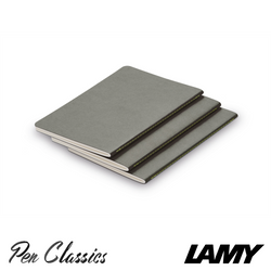 Lamy Booklet 3 Pack A5 Grey