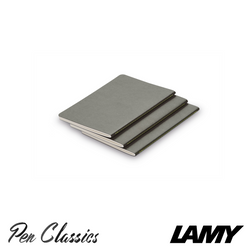 Lamy Booklet 3 Pack A6 Grey