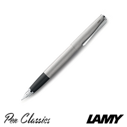 Lamy Studio Brushed Steel Fountain Pen