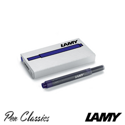 Lamy T10 Blue-Black Cartridges 5 Pack Cartridge Only