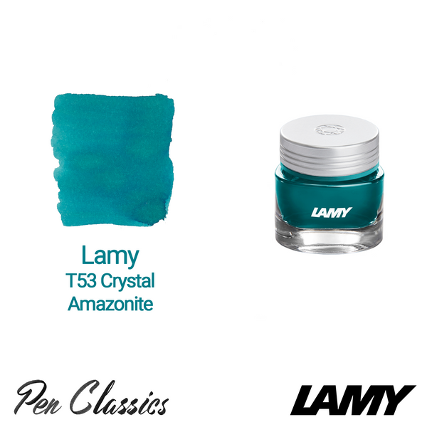 Lamy T53 Crystal Ink Amazonite 30ml Bottle