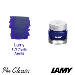 Lamy T53 Crystal Ink Azurite 30ml Bottle