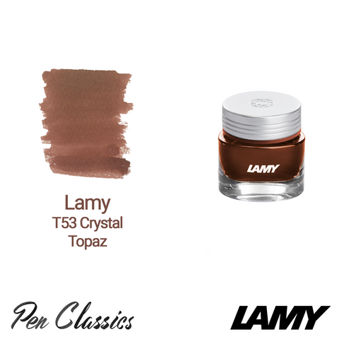 Lamy T53 Crystal Ink Topaz 30ml Bottle