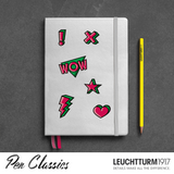 Leuchtturm 1917 A5 Medium Neon Stickers