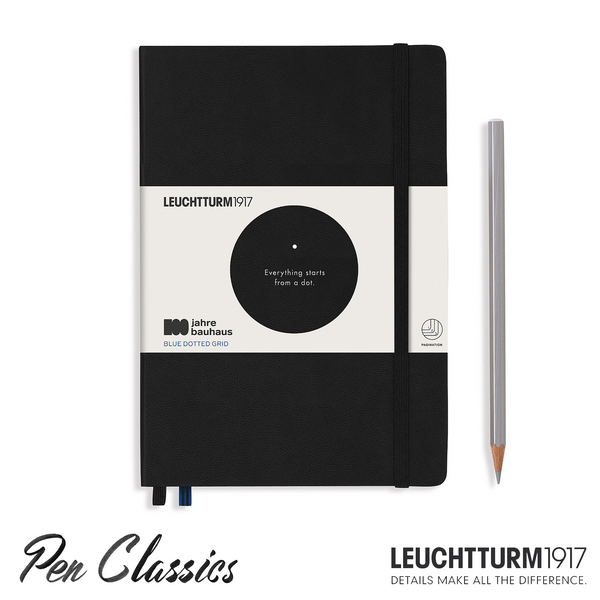 Leuchtturm 1917 Bauhaus A5 Medium Black