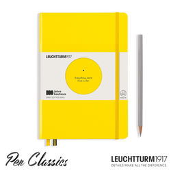 Leuchtturm 1917 Bauhaus A5 Medium Lemon
