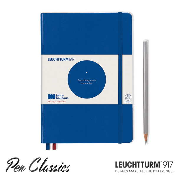 Leuchtturm 1917 Bauhaus A5 Medium Royal Blue