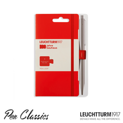 Leuchtturm 1917 Bauhaus Pen Loop Red