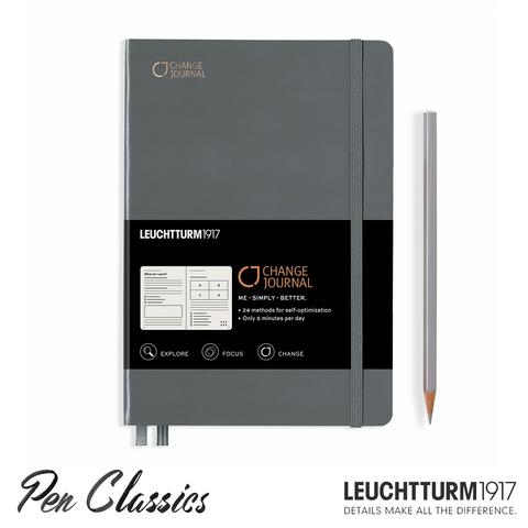 Leuchtturm 1917 Change Journal Anthracite