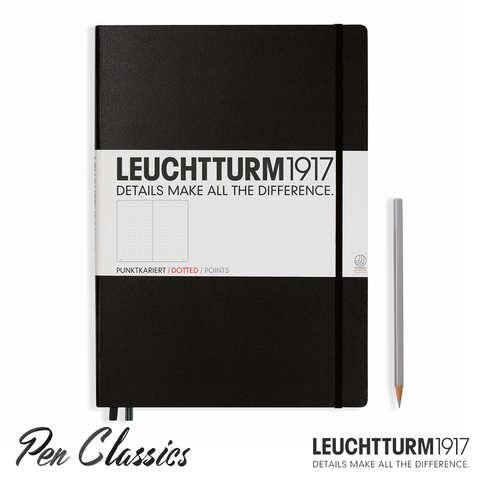 Leuchtturm 1917 Master Large A4 Dotted Black