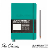 Leuchtturm 1917 Medium Dotted Bullet Journal - Emerald