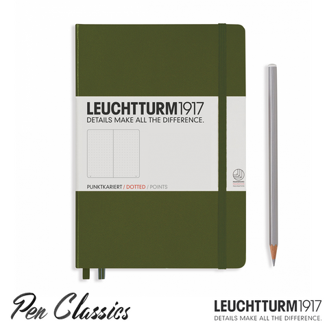 Leuchtturm 1917 Medium Dotted - Anthracite