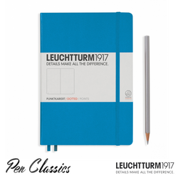 Leuchtturm 1917 Medium Dotted - Azure