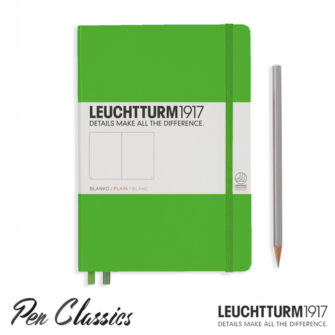 Leuchtturm 1917 Medium Dotted - Fresh Green
