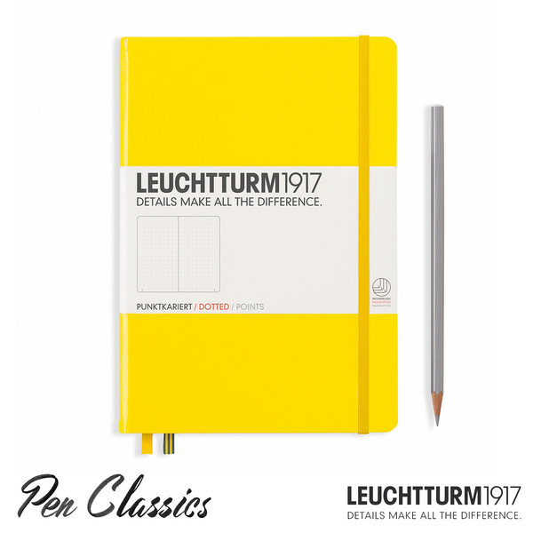 Leuchtturm 1917 Medium Dotted - Lemon