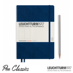 Leuchtturm 1917 Medium Dotted - Navy