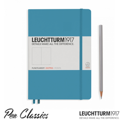 Leuchtturm 1917 Medium Dotted - Nordic Blue