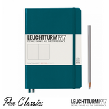 Leuchtturm 1917 Medium A5 Dot Grid Colour Pacific Green