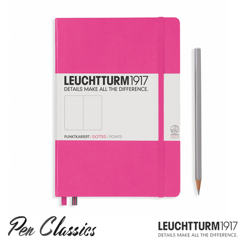 Leuchtturm 1917 Medium Dotted - Pink