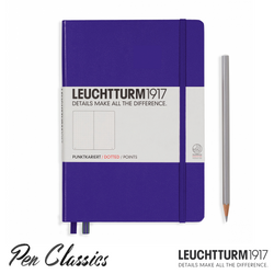 Leuchtturm 1917 Medium Dotted - Purple