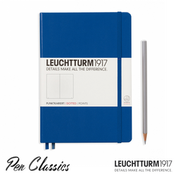 Leuchtturm 1917 Medium Dotted - Royal Blue