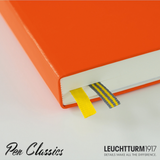 Leuchtturm 1917 Medium A5 Some Lines a Day - Orange