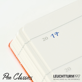 Leuchtturm 1917 Medium A5 Some Lines a Day - Nordic Blue