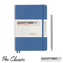 Leuchtturm 1917 Muted Colours A5 Medium Denim