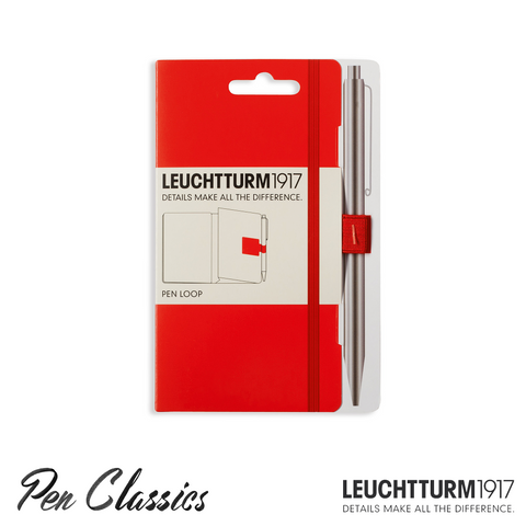 Leuchtturm 1917 Pen Loop - Red