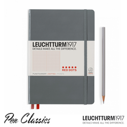 Leuchtturm 1917 Red Dots Special Edition Anthracite Dot Grid