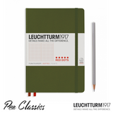 Leuchtturm 1917 Red Dots Special Edition Army Dot Grid