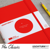 Leuchtturm Bauhaus A5 Red Outer Cover