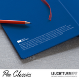 Leuchtturm Bauhaus Royal Blue Inner Cover