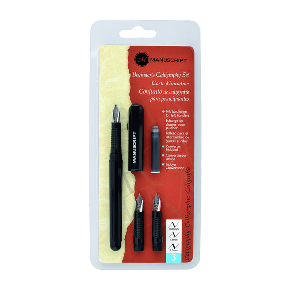 Manuscript Beginner Calligraphy Set LH