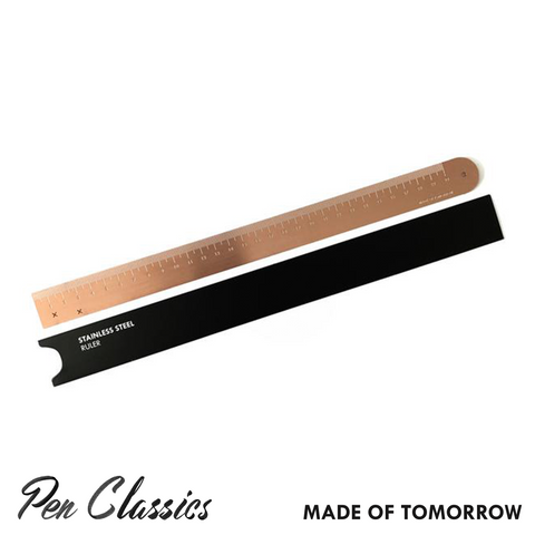 Made of Tomorrow Copper Steel Ruler