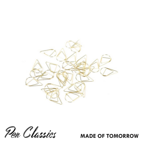 Made of Tomorrow Gold Paper Clips