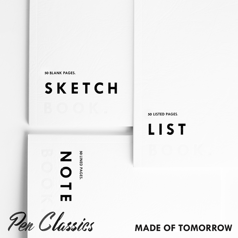 Made of Tomorrow Pocket Book // Set of 3