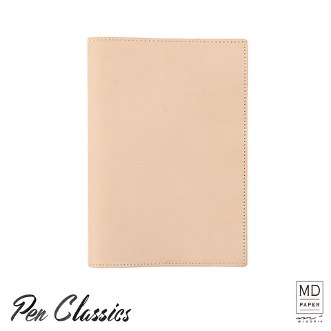 Midori MD Notebook Cover A5 Goat Leather Front