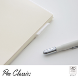 Midori MD Notebook Cover A5 Vinyl Closed Pen Loop