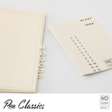 Midori MD Notebook Journal Frame Diary Sticker